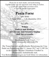 Paula Foese