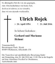 Ulrich Rojek