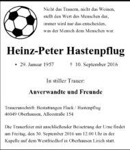 Heinz Peter Hastenpflug