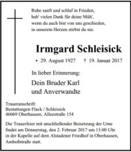Irmgard Schleisick