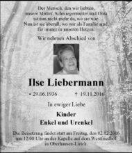 Ilse Liebermann