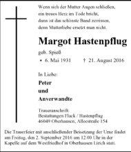 Margot Hastenpflug