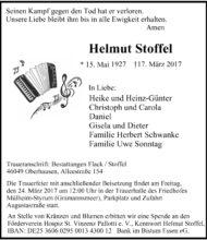 Helmut Stoffel