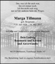 Marga Tillmann