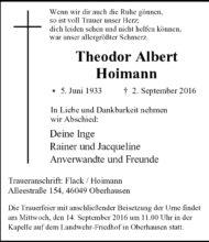 Theodor Albert Hoimann