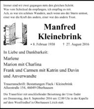 Manfred Kleinebrink