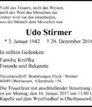 Udo Stirmer